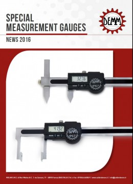 NEWS 2016 - SPECIAL MEASUREMENT  GAUGES